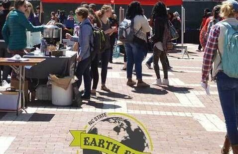 A picture of a previous Earth Day event.
