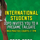 International Students Pregame Tailgate