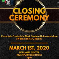 BSU Closing Ceremony