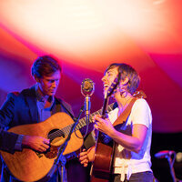 Americana duo the Honey Dewdrops perform at the Shady Grove Coffeehouse on March 7