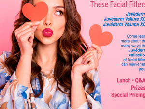 Juvederm Filler Valentine's Day Lunch and Learn