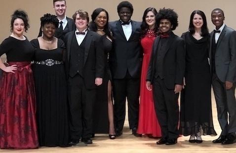 Voice Honors Recital