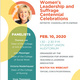 2020 Women's Leadership and Suffrage Centennial Celebrations