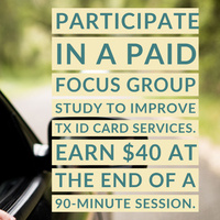 Paid Focus Group Opportunity