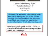 Takeda Networking Night