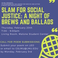 Slam for Social Justice: A Night of Brews and Ballads