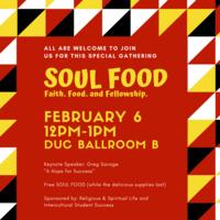 Soul Food: Faith, Food and Fellowship