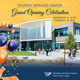 Student Services Center on yellow and blue background with fake balloons