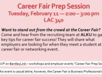 Career Fair Prep Session - by ALKU