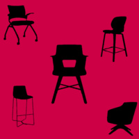 Different types of chairs that will be at the Chair Fair