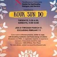 Kouk Sun Do, Sundays and Tuesdays