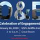 Celebration of Engagement flier with event details