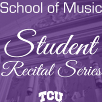Student Recital Series: Zi-Yun Luo, cello.  Weiyu Zhu, piano