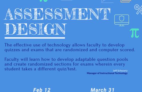 Assessment Design Flyer