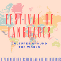 Festival of Languages; Cultures Around the World 2020