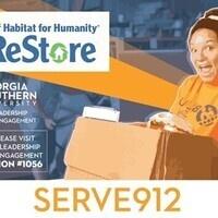 Serve912 Statesboro Friday Habitat for Humanity Restore Trip