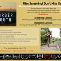 Border South film event