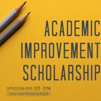 Academic Improvement Scholarship