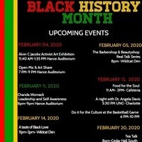 Black History Month of Events