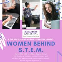 Women Behind STEM Speaker & Networking Night
