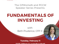 Join us to learn investment strategies.