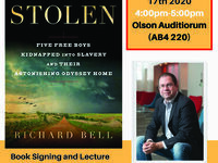 Lecture & Book Signing by Dr. Richard Bell