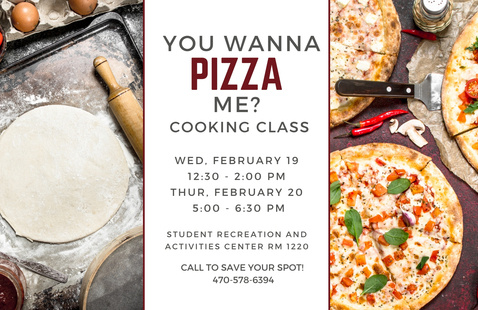 Cooking Demo: You Wanna PIZZA Me?