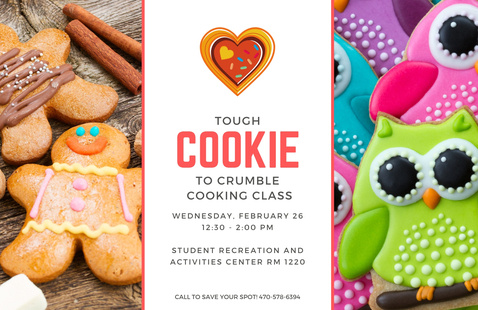 Cooking Demo: Tough Cookie to Crumble