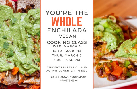 Cooking Demo: VEGAN You're the Whole Enchilada