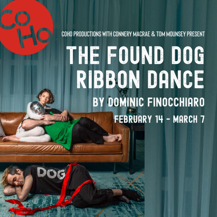 The Found Dog Ribbon Dance by Dominic Finocchiaro