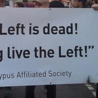 The left is dead! Long live the left!