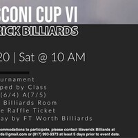 Billiards Tournament (Cancelled)