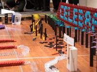 Legos domino display