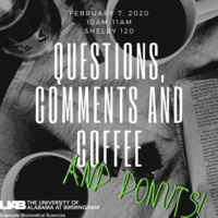 Questions, Comments & Coffee