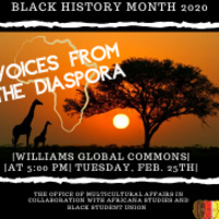 Voices from the Diaspora | Multicultural Affairs