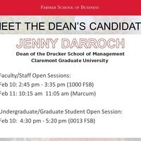 Meet the Dean candidates: Jenny Darroch