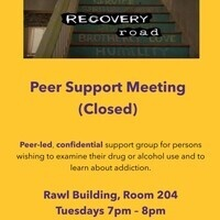 *CANCELED* Recovery Road All Recovery Meeting