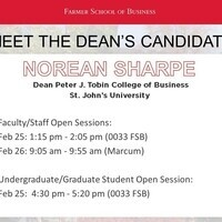 Meet the Dean candidates: Norean Sharpe