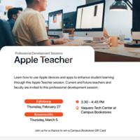 Apple Teacher Session (Brownsville)