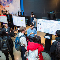 SuperUROP Fall 2019 Showcase, Charles M. Vest Student Street, Stata Center