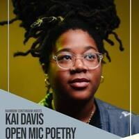 Kai Davis Open Mic Poetry