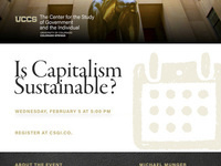 Is Capitalism Sustainable?
