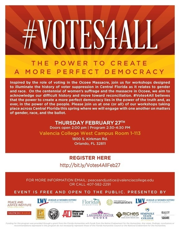 #Votes4All The Power to Create a More Perfect Democracy