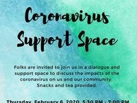 Coronavirus Support Space