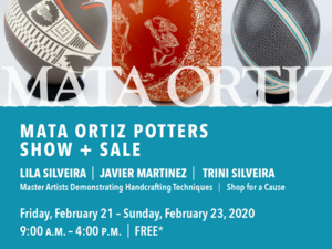 10th Annual Mata Ortiz Pottery Cultural Weekend at the Cabot's Pueblo Museum