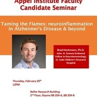 Appel Institute Faculty Candidate Seminar