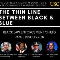The Thin Line Between Black & Blue: Black Law Enforcement Chiefs Panel