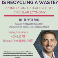 Is Recyling a Waste? Promises and Pitfalls of the Circular Economy