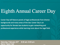 Women's Law Coalition and Women of Color Collective Career Day