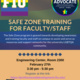 Safe Zone Training for Faculty & Staff